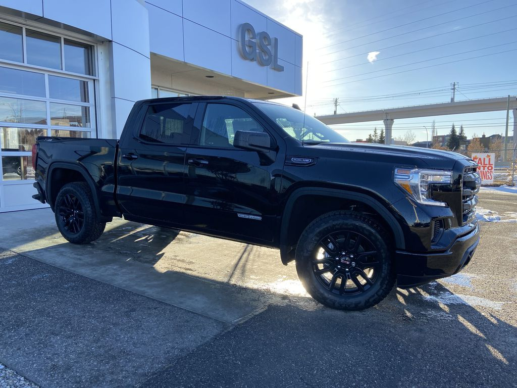 Black[Onyx Black] 2021 GMC Sierra 1500 Elevation