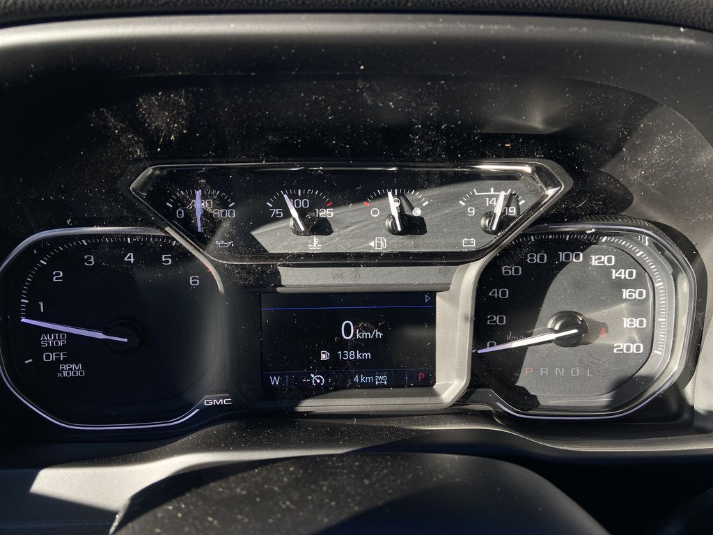 Black[Onyx Black] 2021 GMC Sierra 1500 Elevation Odometer Photo in Calgary AB