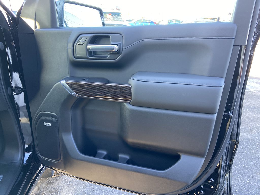 Black[Onyx Black] 2021 GMC Sierra 1500 Elevation Right Front Interior Door Panel Photo in Calgary AB