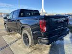 Black[Onyx Black] 2021 GMC Sierra 1500 Elevation Left Rear Corner Photo in Calgary AB