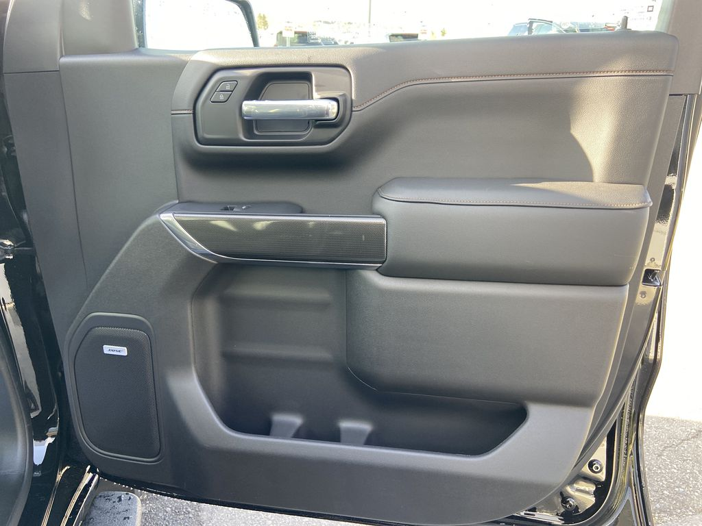 Black[Onyx Black] 2021 GMC Sierra 1500 AT4 Right Front Interior Door Panel Photo in Calgary AB