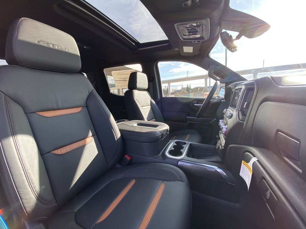 Black[Onyx Black] 2021 GMC Sierra 1500 AT4 Right Side Front Seat  Photo in Calgary AB