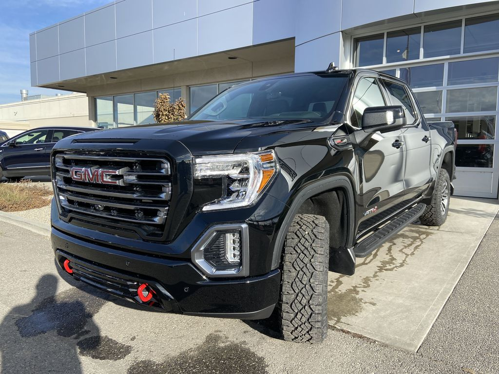 Black[Onyx Black] 2021 GMC Sierra 1500 AT4 Left Front Head Light / Bumper and Grill in Calgary AB