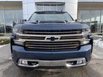 Blue[Northsky Blue Metallic] 2021 Chevrolet Silverado 1500 High Country Front Vehicle Photo in Calgary AB