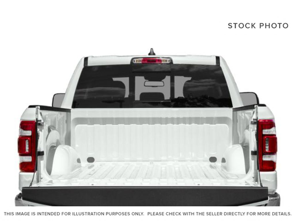 Granite Crystal Met. Clear Coa 2021 Ram 1500 Trunk / Cargo Area Photo in Cold Lake AB
