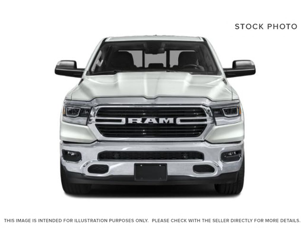 Granite Crystal Met. Clear Coa 2021 Ram 1500 Front Vehicle Photo in Cold Lake AB