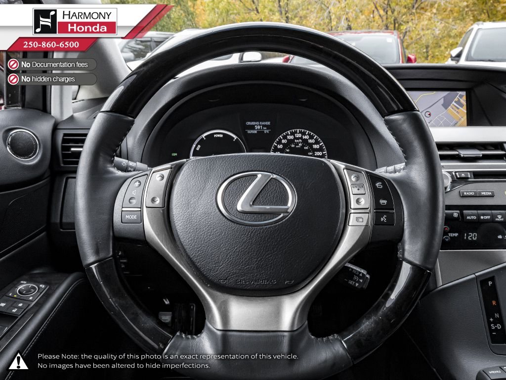 Red 2014 Lexus RX 450h Right Side Front Seat  Photo in Kelowna BC