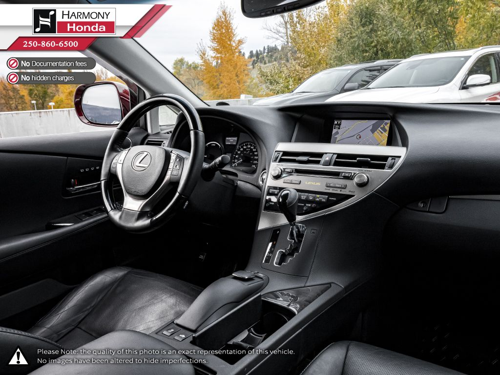 Red 2014 Lexus RX 450h Rear Seat Photo in Kelowna BC