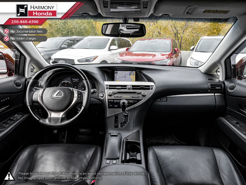 Red 2014 Lexus RX 450h Left Front Seat Photo in Kelowna BC