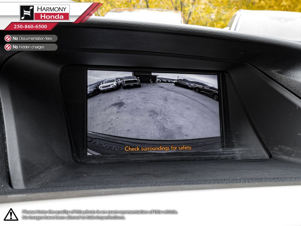 Red 2014 Lexus RX 450h Front Seats and Dash Photo in Kelowna BC
