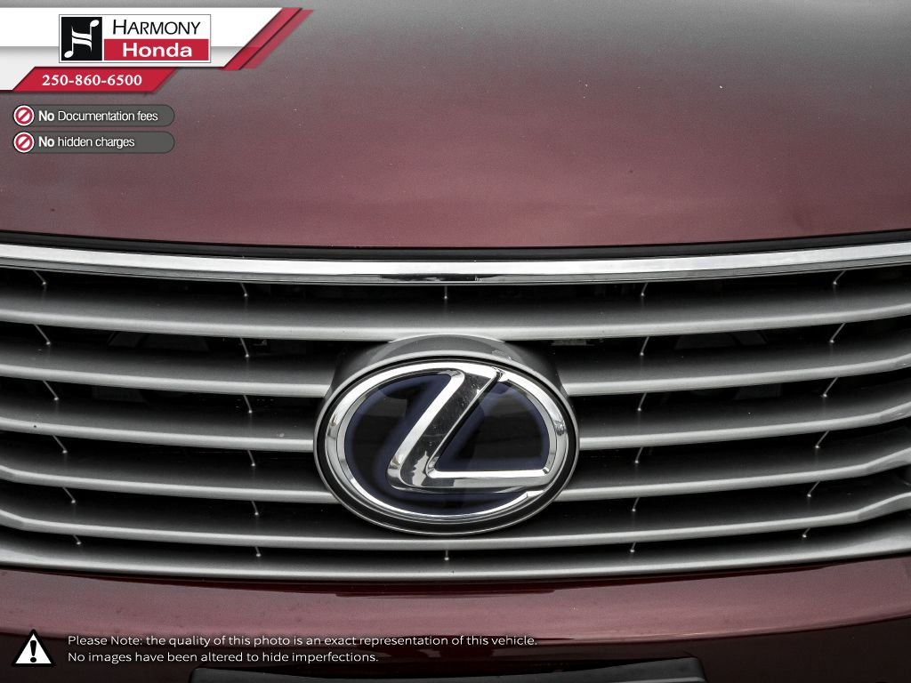 Red 2014 Lexus RX 450h Rear of Vehicle Photo in Kelowna BC