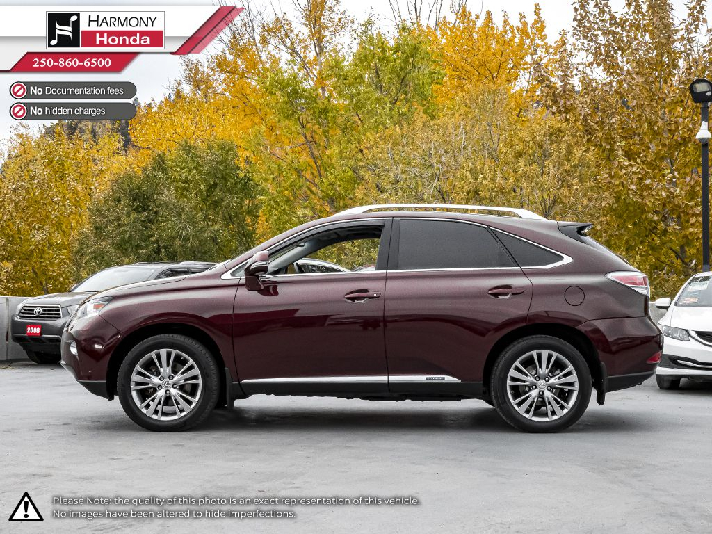 Red 2014 Lexus RX 450h Odometer Photo in Kelowna BC