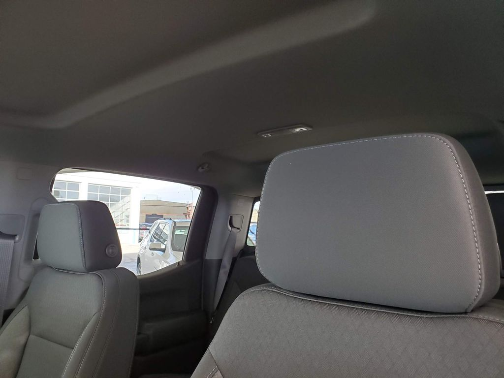 White 2021 Chevrolet Silverado 1500 Driver's Side Door Controls Photo in Airdrie AB