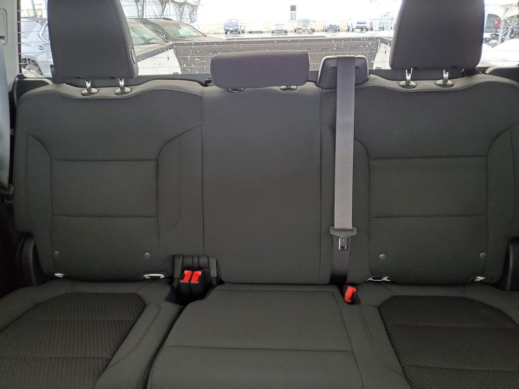 White 2021 Chevrolet Silverado 1500 Left Side Rear Seat  Photo in Airdrie AB