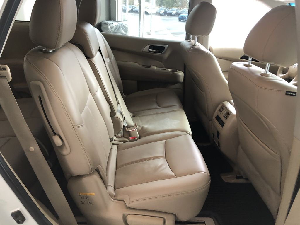 White 2015 Nissan Pathfinder SL 7-Passenger 4WD Left Front Seat Photo in Edmonton AB