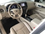 White 2015 Nissan Pathfinder SL 7-Passenger 4WD Central Dash Options Photo in Edmonton AB