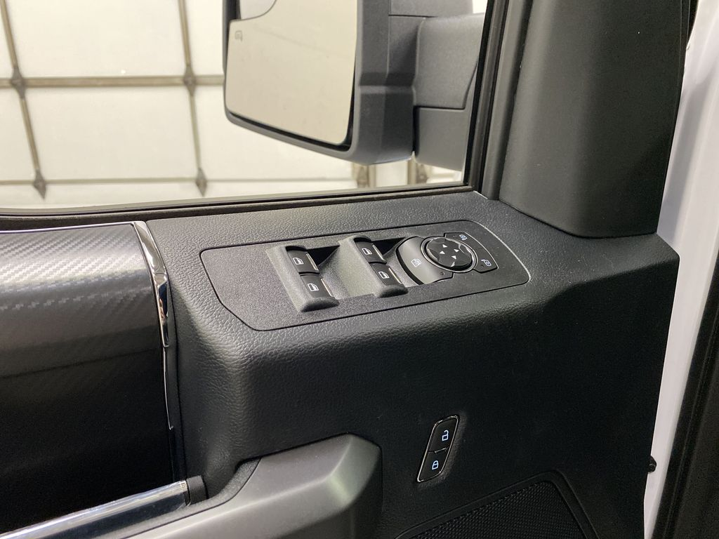White[Oxford White] 2020 Ford F-150  Driver's Side Door Controls Photo in Dartmouth NS