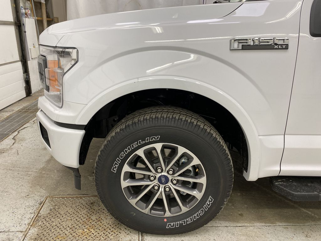 White[Oxford White] 2020 Ford F-150 Left Front Rim and Tire Photo in Dartmouth NS