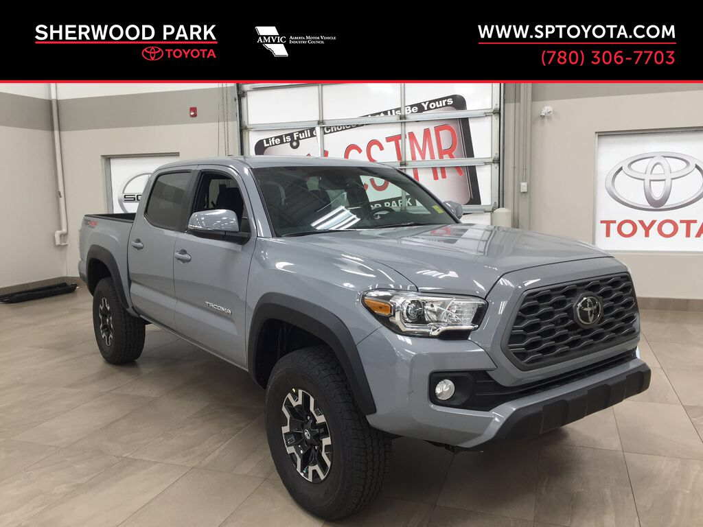 Gray[Cement Grey Metallic] 2021 Toyota Tacoma TRD Off-Road