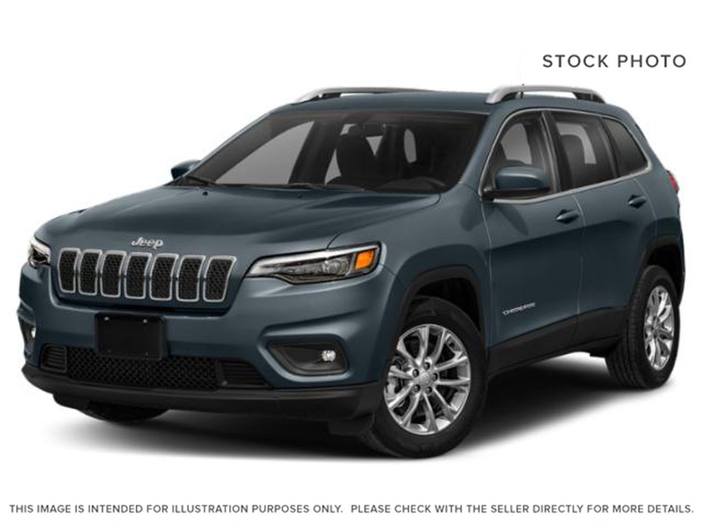 Blue[Blue Shade Pearl] 2021 Jeep Cherokee