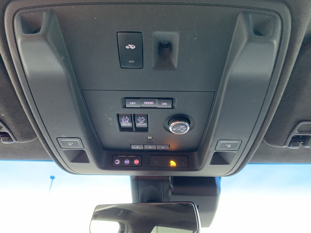 Black[Black Raven] 2018 Cadillac Escalade ESV Left Side Rear Seat  Photo in Fort Macleod AB