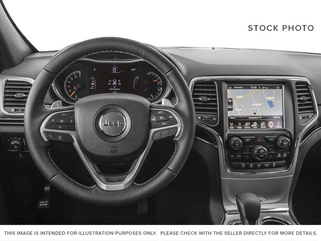 2017 Jeep Grand Cherokee Steering Wheel and Dash Photo in Medicine Hat AB
