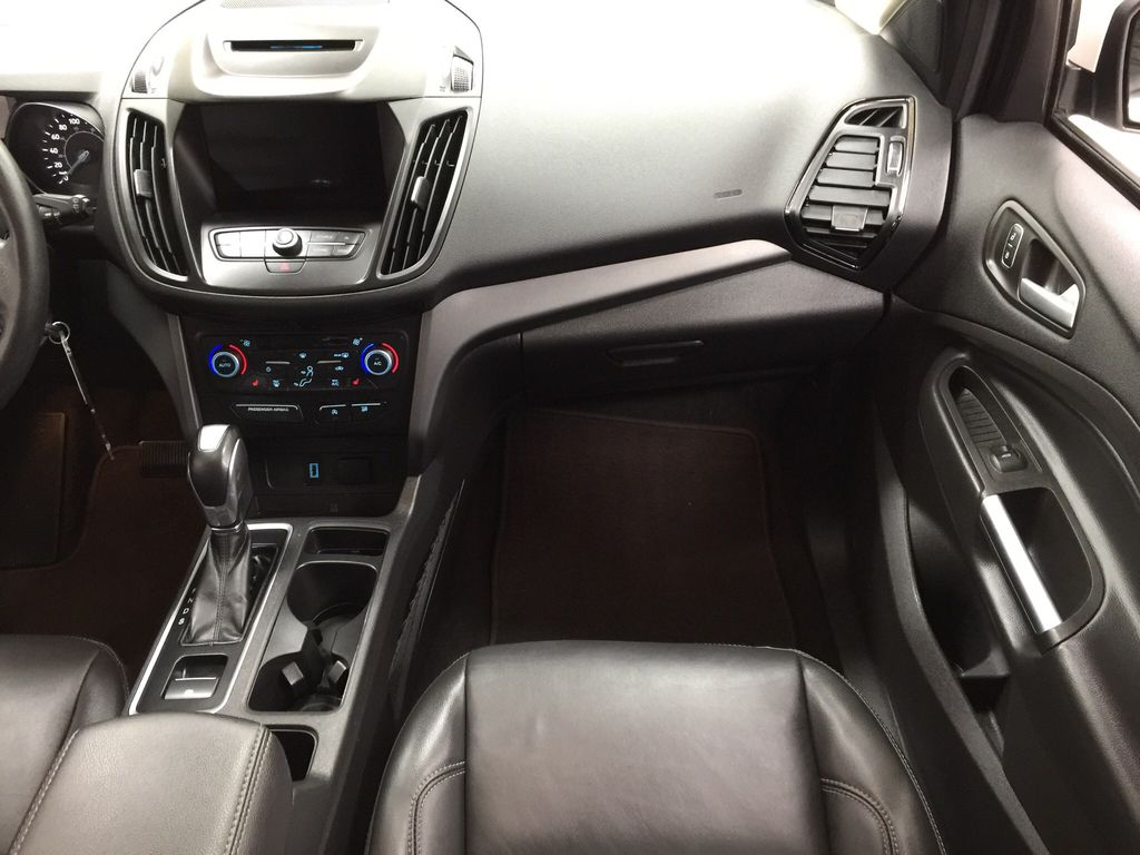 White[Oxford White] 2018 Ford Escape SEL AWD Right Front Seat Photo in Sherwood Park AB