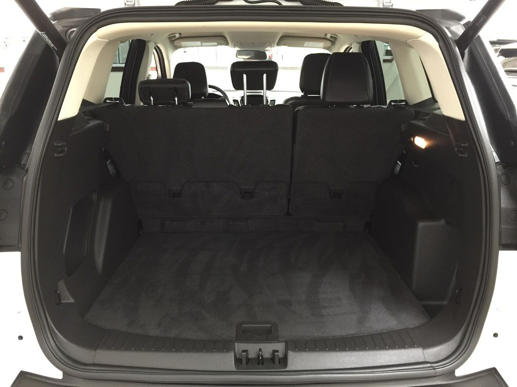 White[Oxford White] 2018 Ford Escape SEL AWD Cargo Area/Rear Seats Photo in Sherwood Park AB