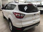 White[Oxford White] 2018 Ford Escape SEL AWD Left Rear Corner Photo in Sherwood Park AB
