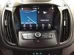 White[Oxford White] 2018 Ford Escape SEL AWD Infotainment Closeup Photo in Sherwood Park AB