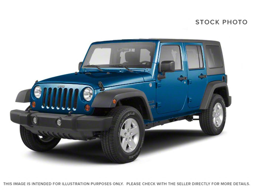 Blue[Deep Water Blue Pearl] 2010 Jeep Wrangler Unlimited