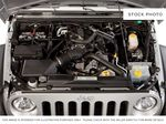 Blue[Deep Water Blue Pearl] 2010 Jeep Wrangler Unlimited Engine Compartment Photo in Fort Macleod AB