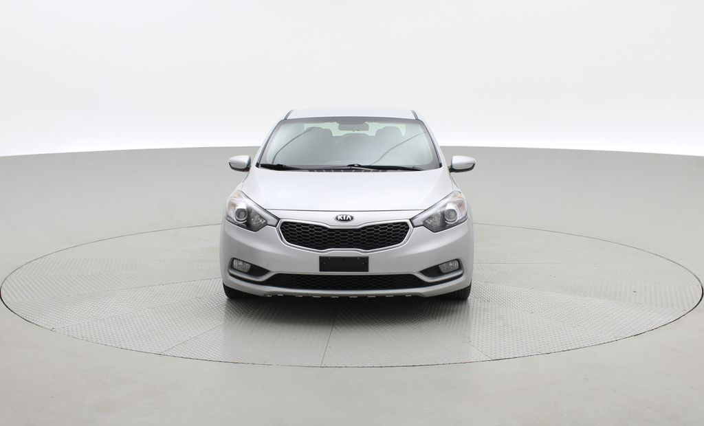 Silver[Sterling Metallic] 2015 Kia Forte LX Plus - Automatic, Heated Seats, Bluetooth, Cruise Control Front Vehicle Photo in Winnipeg MB