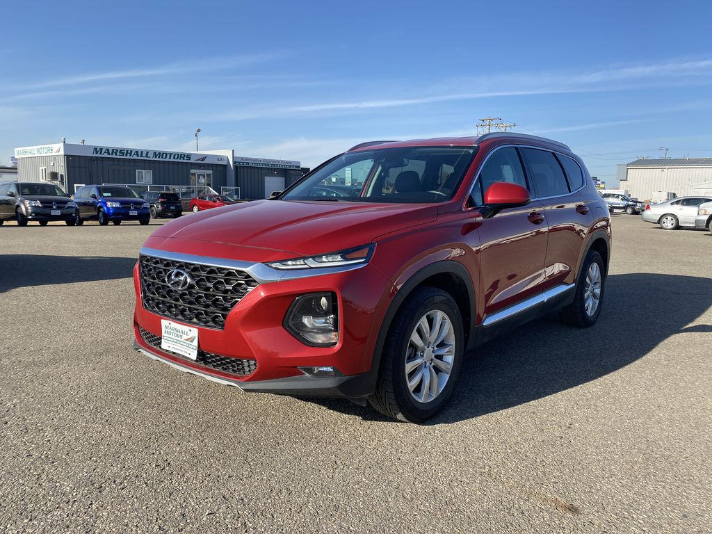Red[Scarlet Red] 2019 Hyundai Santa  2.4L Essential AWD w/Safety Package *Adaptive Cruise*