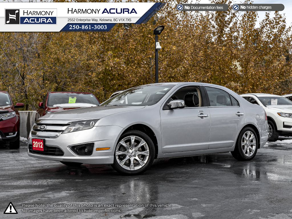 Silver 2012 Ford Fusion
