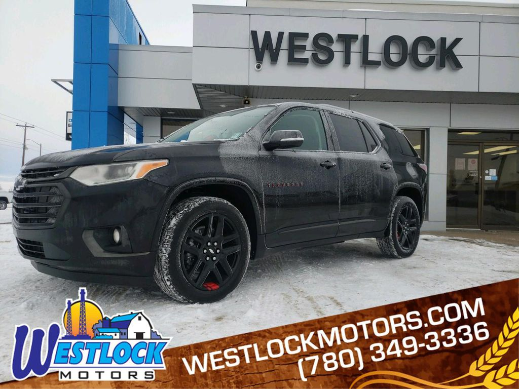 Black 2021 Chevrolet Traverse
