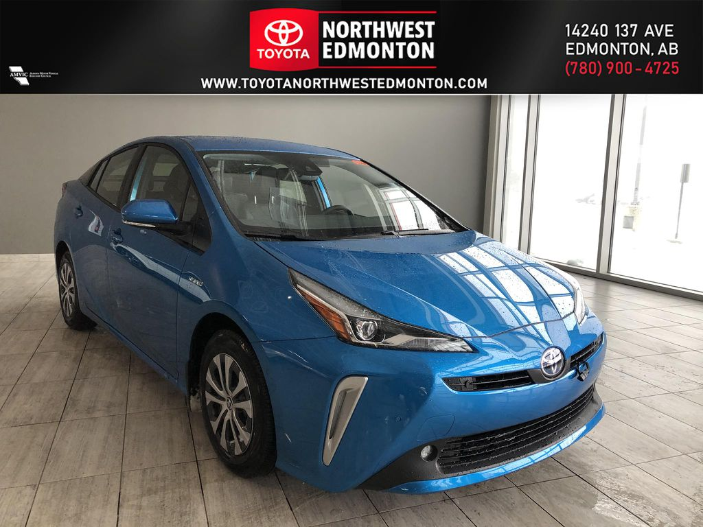 Electric Storm Blue 2021 Toyota Prius Technology Advanced AWD-e