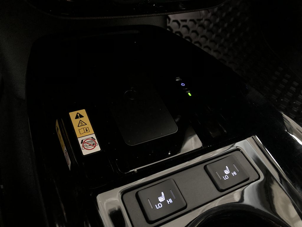 Electric Storm Blue 2021 Toyota Prius Technology Advanced AWD-e Engine Compartment Photo in Edmonton AB