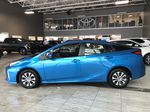 Electric Storm Blue 2021 Toyota Prius Technology Advanced AWD-e Left Side Photo in Edmonton AB
