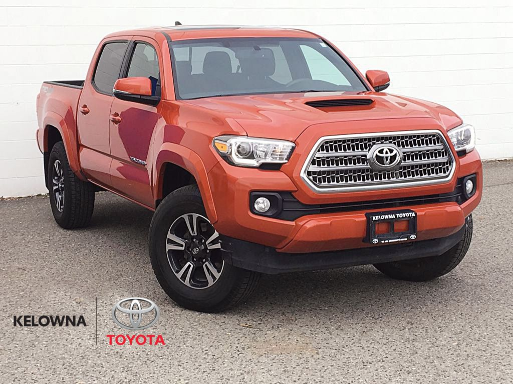 Inferno Orange 2017 Toyota Tacoma TRD Sport