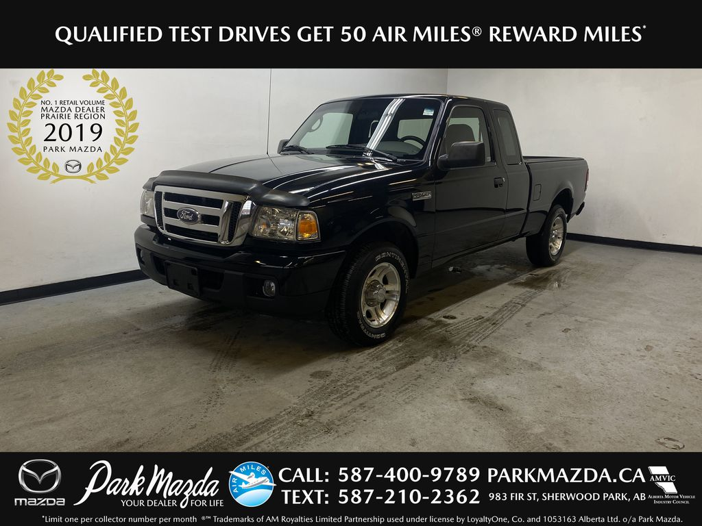 BLACK 2007 Ford Ranger XLT - Cruise Control, Air Conditioning, AUX/CD Audio