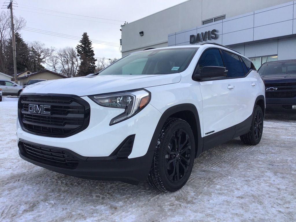 White 2020 GMC Terrain
