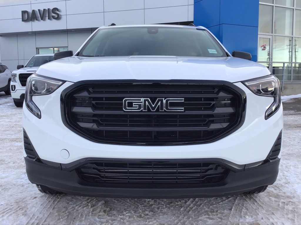White 2020 GMC Terrain Front Vehicle Photo in Brooks AB