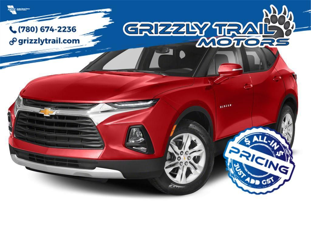 Red 2021 Chevrolet Blazer