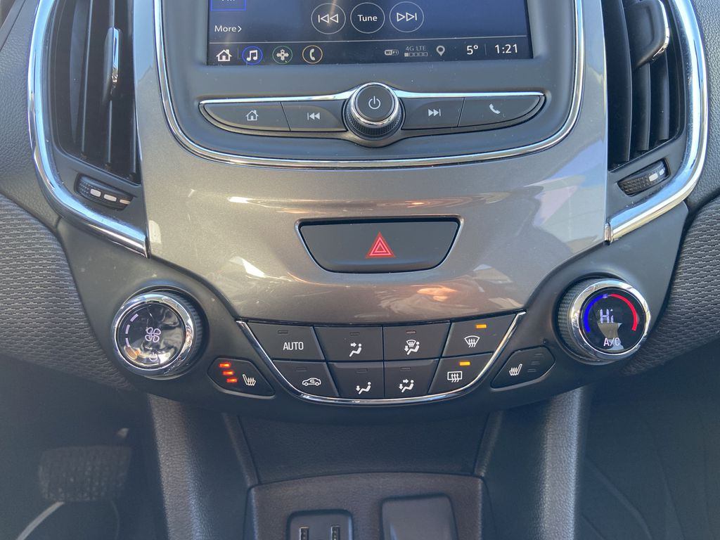 Red[Cajun Red Tintcoat] 2019 Chevrolet Cruze LT Central Dash Options Photo in Calgary AB