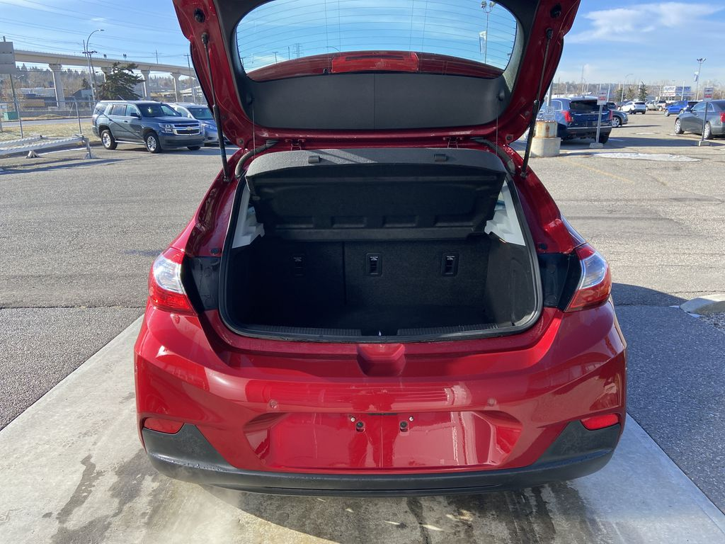 Red[Cajun Red Tintcoat] 2019 Chevrolet Cruze LT Trunk / Cargo Area Photo in Calgary AB
