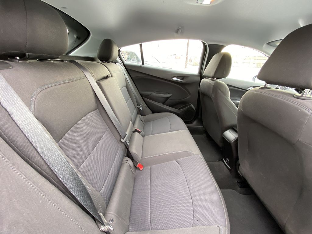 Black[Black] 2019 Chevrolet Cruze LT True North Right Side Rear Seat  Photo in Calgary AB