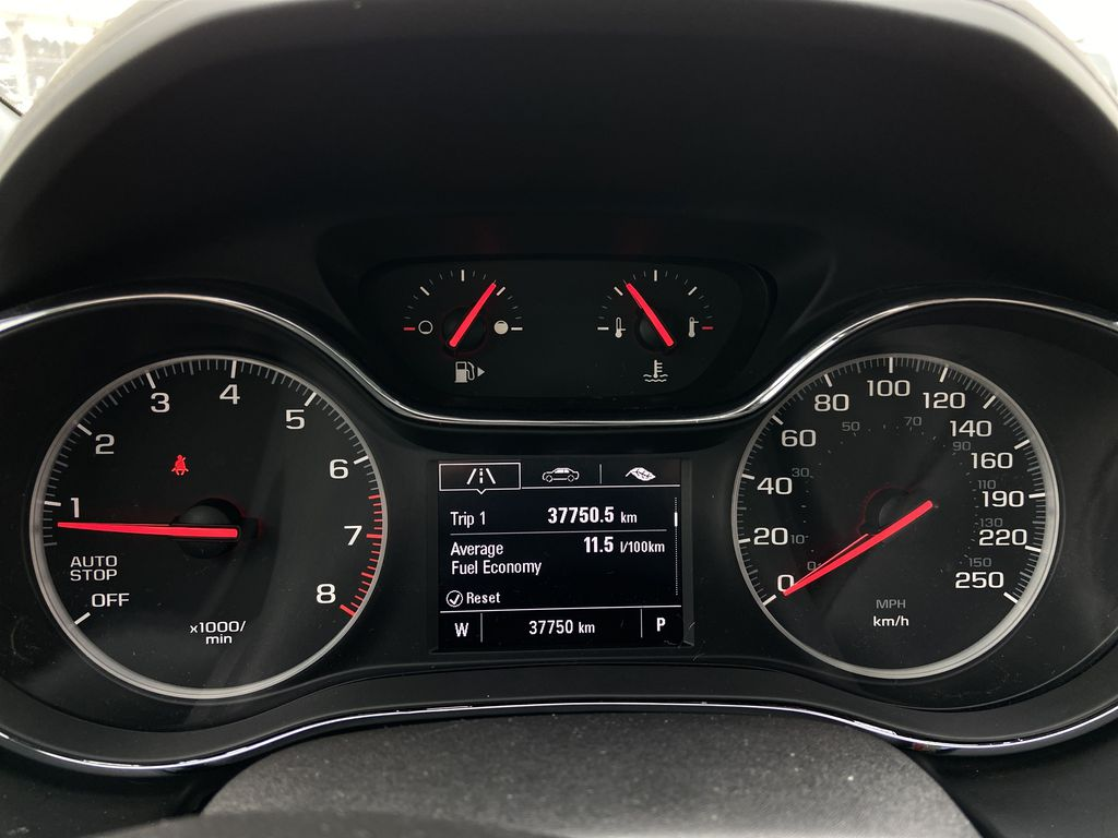 Black[Black] 2019 Chevrolet Cruze LT True North Odometer Photo in Calgary AB