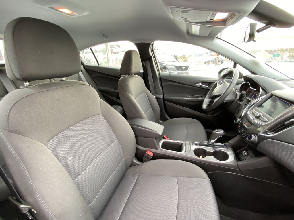 Black[Black] 2019 Chevrolet Cruze LT True North Right Side Front Seat  Photo in Calgary AB