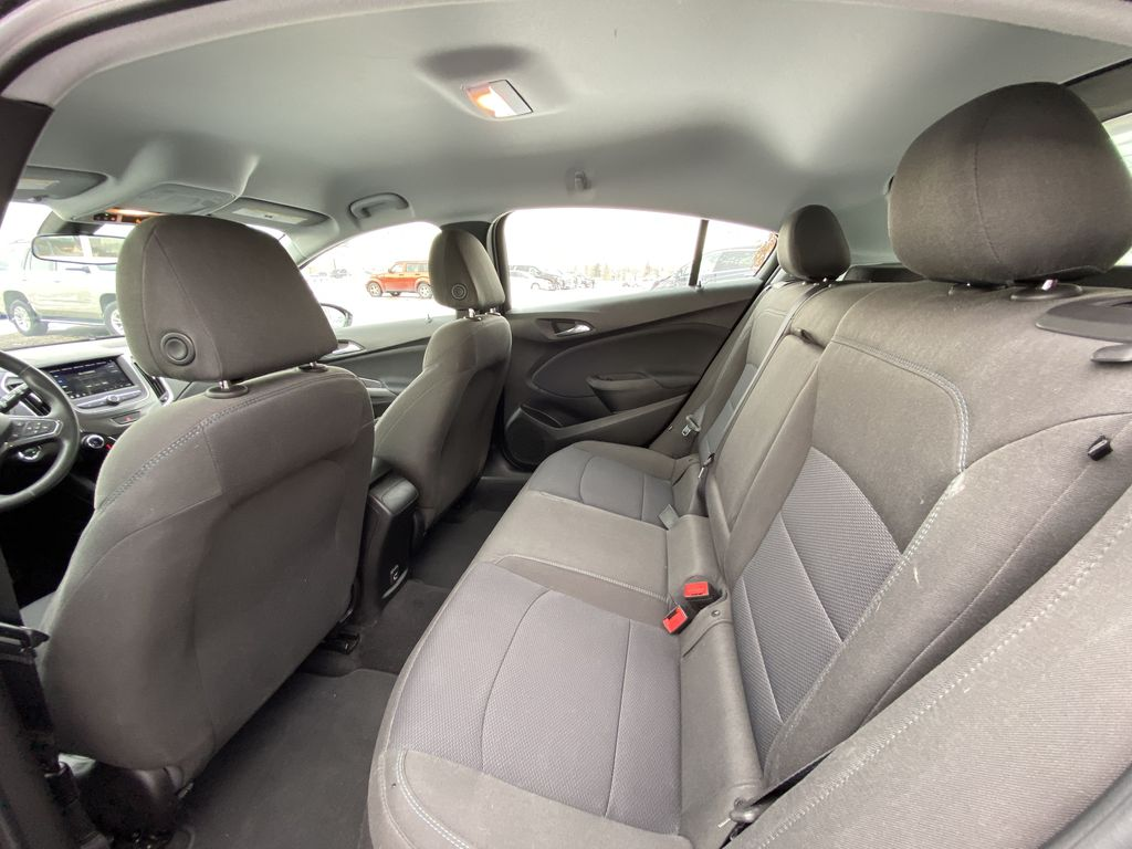 Black[Black] 2019 Chevrolet Cruze LT True North Left Side Rear Seat  Photo in Calgary AB